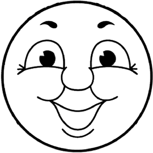 Current image within thomas the train face printable